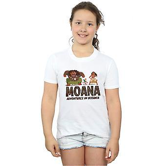 Disney Girls Moana Adventures in Oceania T-Shirt