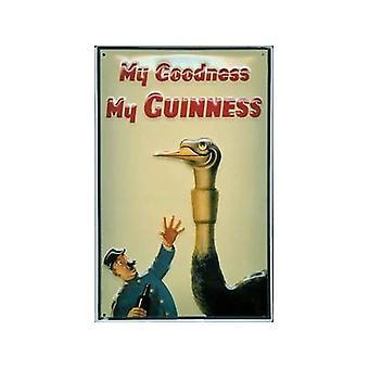 Guinness struds præget Metal tegn