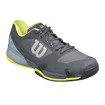 Wilson Rush Pro 2.5 clay court men's ebony/monument/lime punch WRS322660