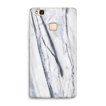 Huawei P9 Lite Full Print Case - Striped marble