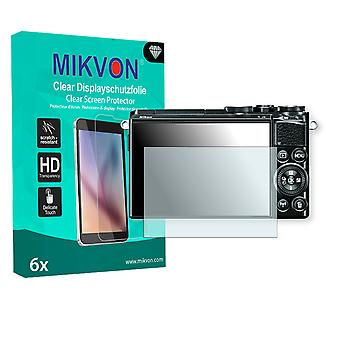 Nikon 1 J5 Screen Protector - Mikvon Clear (Retail Package with accessories)