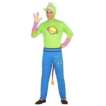 Herren Kostüme Alien Kostüm für Erwachsene