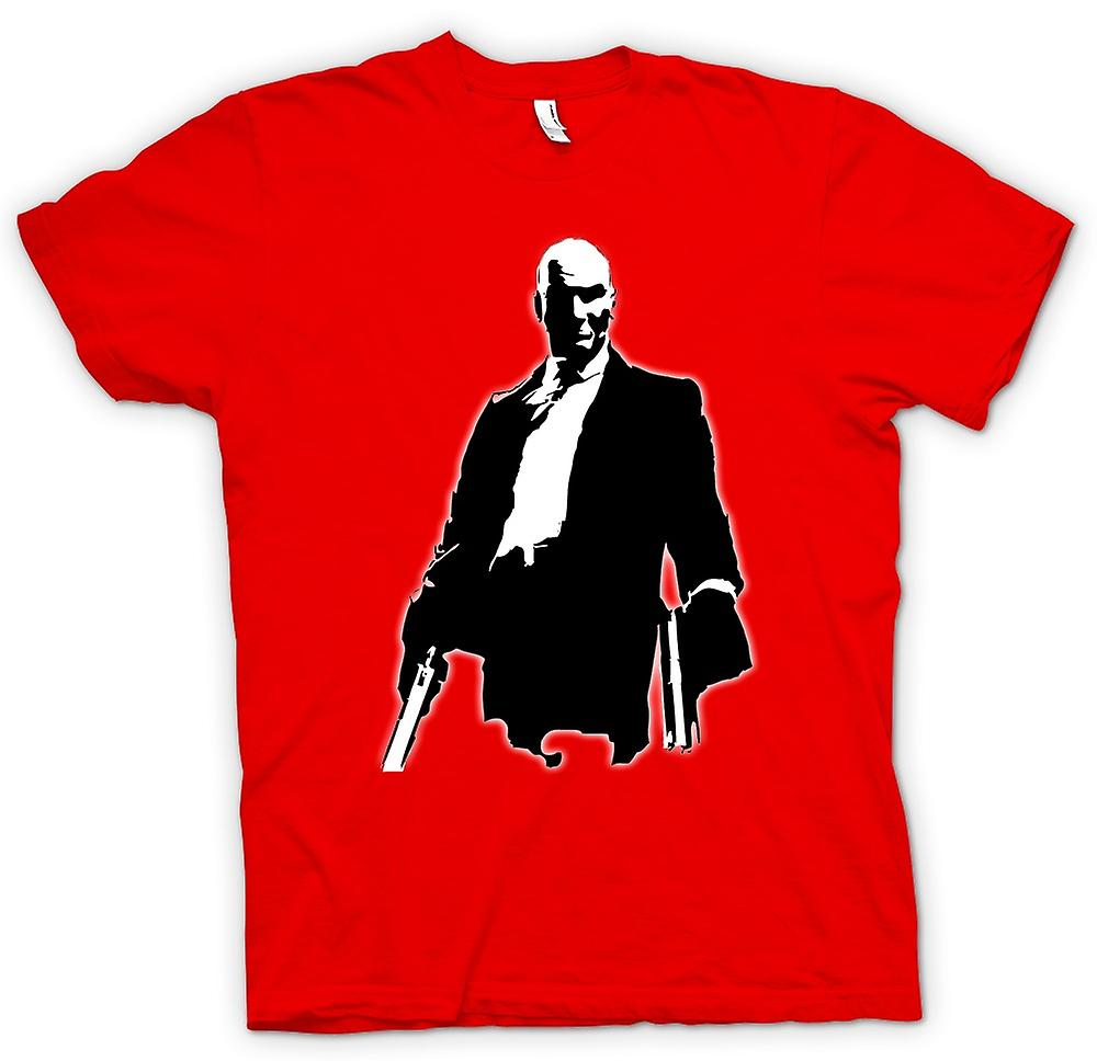 Herr T-shirt-Hitman - Game - kult