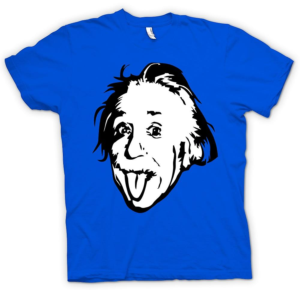 Mens T-shirt-Albert Einstein tong uit - Funny