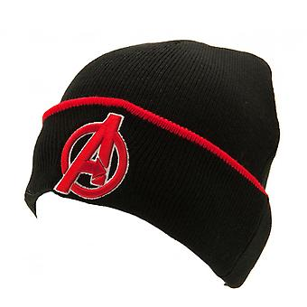 Avengers Childrens/Kids Turn-Up Knitted Hat
