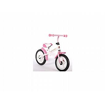 Yipeeh Draisienne 12 pouces Blanc Rose