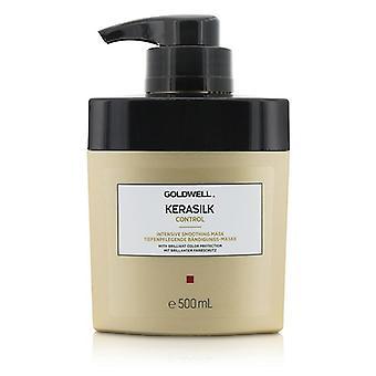 Goldwell Kerasilk Kontrolle intensiv glättende Maske (für widerspenstiges widerspenstiges und krauses Haar) - 500ml/16,9 oz