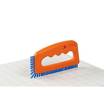 Grout & Tile Mould Brush Cleaning - Thin Brush for Stain Removal - Washable Nylon - Brilliant Solution For Cleaning Tiles Joints !