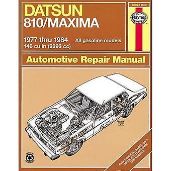 Datsun 810 Maxima Owners Workshop Manual, 77-84