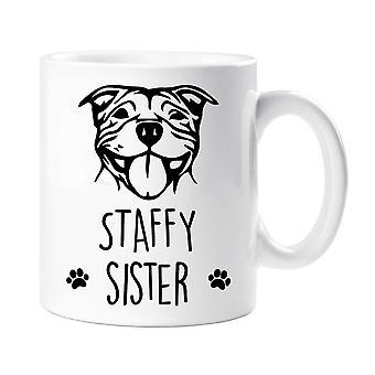 Staffy Mug Staffy Sister