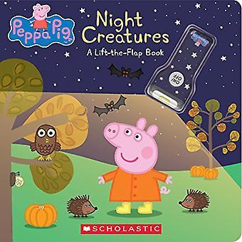 Creature della notte: Un libro di Lift-The-Flap (Peppa Pig)