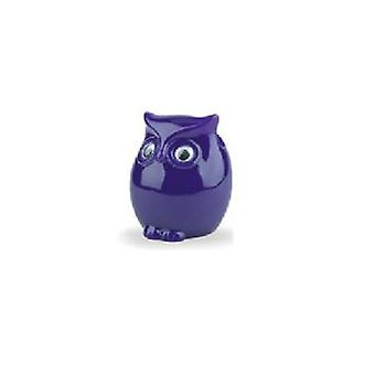 Glasses Holder Owl Purple