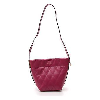Givenchy Purple Leather Shoulder Bag