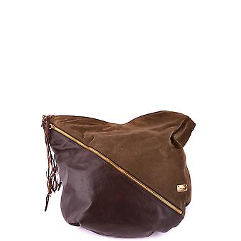 Dsquared2 Brown Leather Tote
