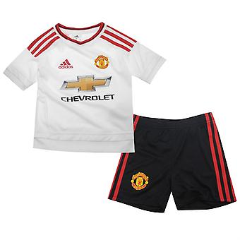 2015-2016 man Utd Adidas Baby Away Kit