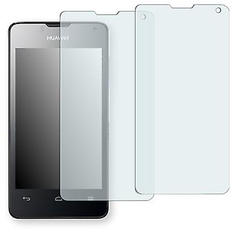 Huawei Ascend Y300 dual SIM display protector - Golebo crystal clear protection film