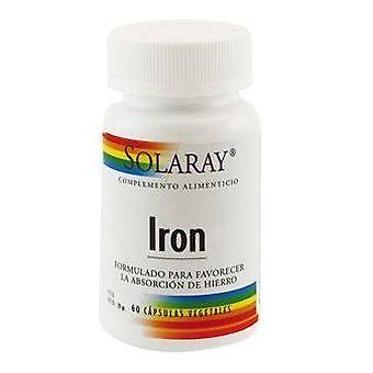 Solaray Iron Citrate 25 mg 60 Capsules