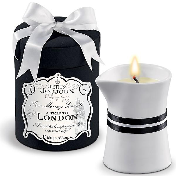 Petits JouJoux 50 Hour Massage Candle: A Trip To London