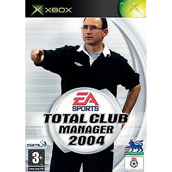Total Club Manager 2004 (Xbox) [Xbox] - Game - Factory Sealed