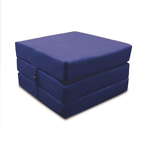 Fold Out Cotton Z CubeBlue Bed v8nmN0w