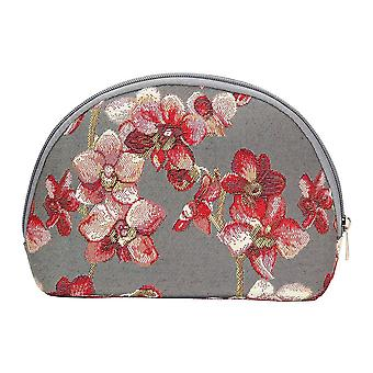 Orchid big cosmetic bag by signare tapestry / bgcos-orc