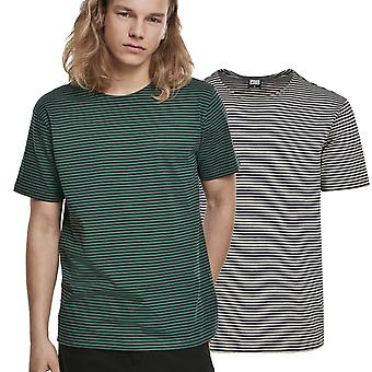 Urban Classics-garen geverfd baby streep overhemd