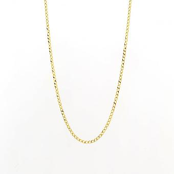 Eternity 9ct Gold 18'' Curb Chain
