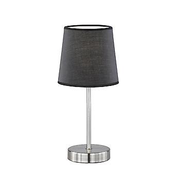 Wofi Cesena - 1 lampe de table légère noire - 8324011000000