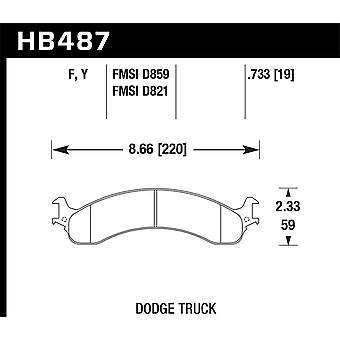Hawk performance HB487Y. 733 LTS
