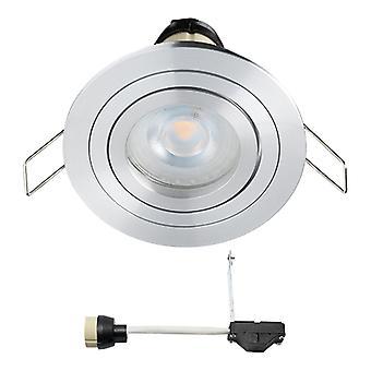 Coblux LED Spotlight recessed | Branco morno | 5 watts | dimmable | Inclinação