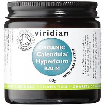 Viridian Calendula & Hypericum Organic Balm 100g (681)