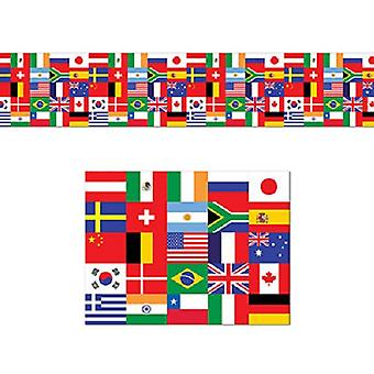 International Flag Poly Decorating Banner