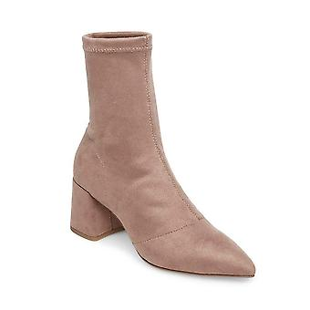 Steve Madden donne rispettare tessuto puntato punta stivali alla moda