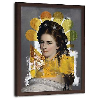 Picture In Natural Frame, Personification Of Peace