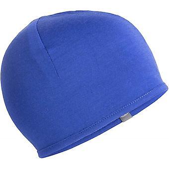 Icebreaker Adult Pocket Hat - Stripe Black/Snow