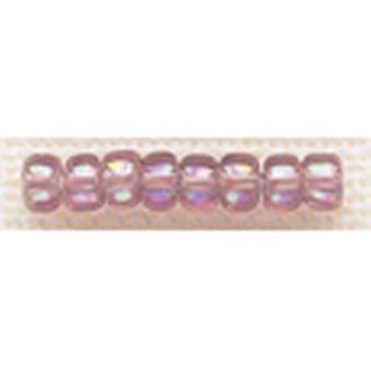 Mill Hill Glass Beads Size 6 0 4Mm 5.2 Grams Pkg Heather Mauve Gbd6 16024