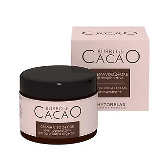 Phytorelax Burro di cacao 24 timers face cream 50ml