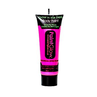 Neon Pink Glow in the Dark Face & Body Paint