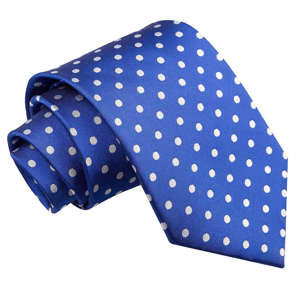 Royal Blue Polka Dot Tie