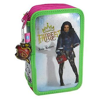 Cife Case 3 Floors Glitter Descendants (Toys , School Zone , Pencil Case)