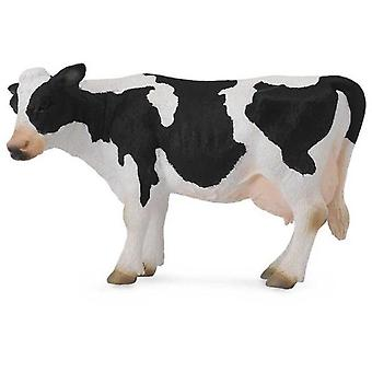 Collecta Friesian cow (white and black) -L-