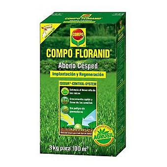 Compo Lawn Fertilization Floranid 3kg (Garden , Gardening , Grass , Fertilizers)