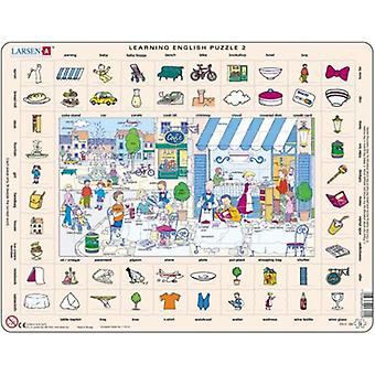 Larsen Learning Inglés Puzzle 2 (Toys , Boardgames , Puzzles)