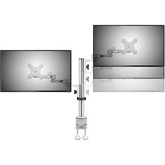 2x Monitor desk mount 33,0 cm (13) - 68,6 cm (27) Swivelling/tiltable, Swive