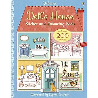 Dolls House Sticker and Colouring Book by Abigail Wheatley & Sophie Crichton