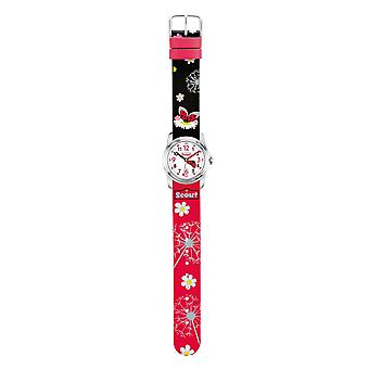 Scout montre enfant apprentissage filles sweeties Watch rouge coccinelle 280301029