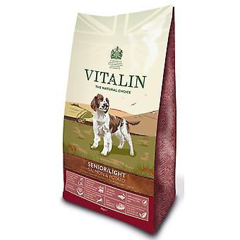 Vitalin naturlige Senior / Lite laks & kartofler 2kg