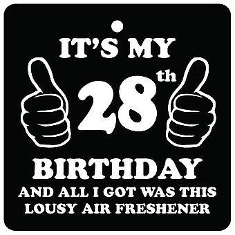 28 день рождения паршивый автомобилей освежитель воздуха