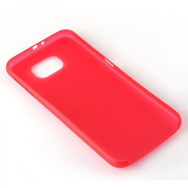 Hard case red 0,3 mm ultra thin case for Samsung Galaxy S6 G920 G920F