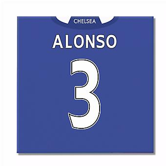 2016-2017 Chelsea Canvas Print (Alonso 3)